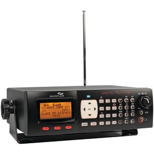 WHISTLER Digital Desktop-Mobile Radio Scanner WS1065