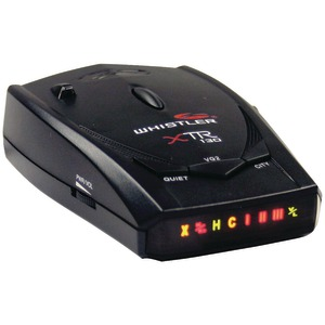 WHISTLER Radar-Laser Detector with Super-Bright Icon Display XTR-130