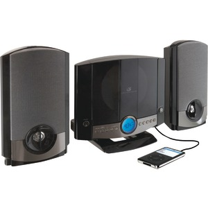 GPX CD Home Music System HM3817DTBLK