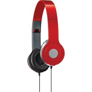 ILIVE On-Ear Headphones (Red) IAH54R