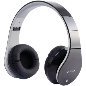 Bluetooth(R) Headphones with Microphone (Black)