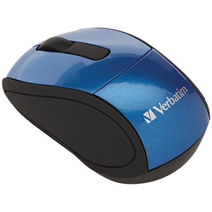 VERBATIM Wireless Mini Travel Mouse (Blue) 97471