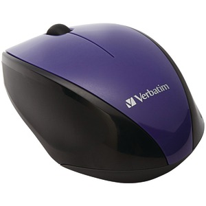 VERBATIM Wireless Multi-Trac Blue LED Optical Mouse (Purple) 97994