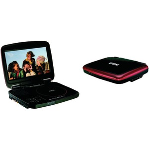 8 Inch. Portable DVD Player with USB & SD(TM) Card Slot