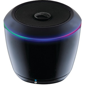 ILIVE BLUE Portable Bluetooth(R) Speaker with LEDs ISB14B