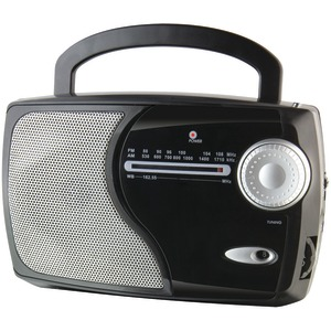 WEATHERX AM-FM Weather Radio WR282B