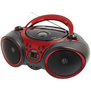 JENSEN Portable Stereo CD Player with AM-FM Stereo Radio CD-490