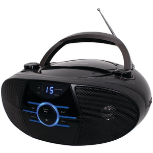 JENSEN Portable Stereo CD Player with AM-FM Stereo Radio & Bluetooth(R) CD-560