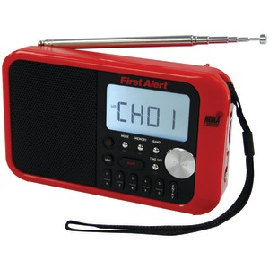 FIRST ALERT Digital Tuning AM-FM Weather Band Radio FA-1100