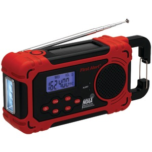 FIRST ALERT AM-FM Weather Band Radio with Weather Alert FA-1160