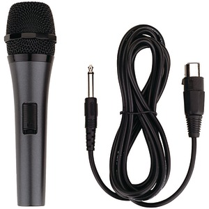 KARAOKE USA Professional Dynamic Microphone with Detachable Cord M189