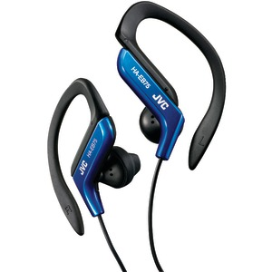 JVC Ear-Clip Headphones (Blue) HAEB75A