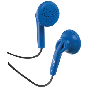 Earbuds with Hard Carrying Case (Blue)