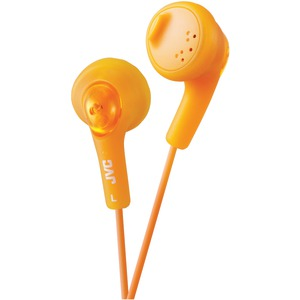 JVC Gumy(R) Earbuds (Orange) HAF160D