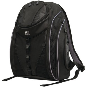 16 Inch. PC-17 Inch. MacBook(R) Express 2.0 Backpack Black-Silver
