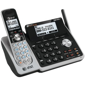 DECT 6.0 Expandable 2-Line Speakerphone with Caller ID