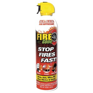 MAX PRO Fire Gone(TM) Fire Suppressant FG-007-102