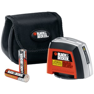 BLACK & DECKER Laser Level with Wall-Mounting Accessories BDL220S