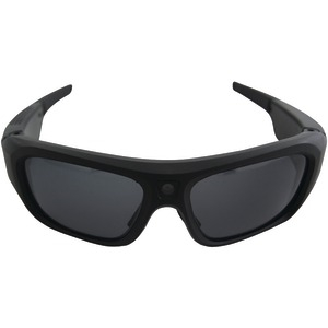 POV HD 1080p Action Camera Eyewear with Wifi and H.264 (Black)