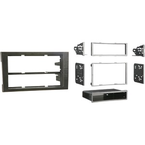 METRA 2002 - 2008 Audi(R) A4 & S4 Single- or Double-DIN Installation Kit 99-9107B
