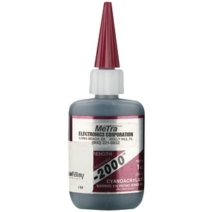 INSTALL BAY Instant Rubber Tough Black Glue 1oz IC-2000