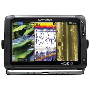 HDS-12 Gen2 Touch Fishfinder with Insight(TM) Chartplotter & Skimmer(R) Transducer