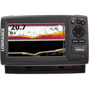 Elite-7 CHIRP Fishfinder with Base Combo