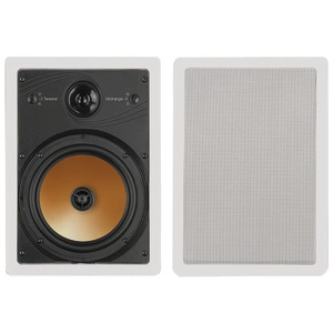 8 Inch. 3-Way Acoustech Series In-Wall Speakers