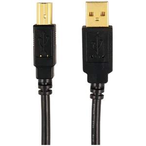 AXIS A-Male to B-Male USB 2.0 Cable (6ft) 12-0080 (MP-007/PT/BL