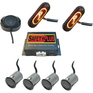 CRIMESTOPPER SafetyPlus(TM) Universal Front & Rear Blind-Spot Detection System BSD-754