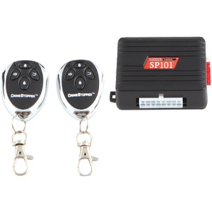 CRIMESTOPPER 1-Way Alarm & Keyless-Entry System SP-101