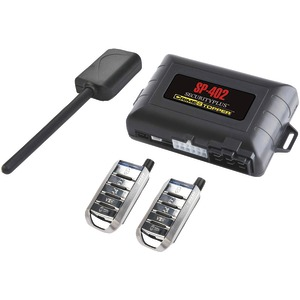 CRIMESTOPPER 1-Way Combo Alarm Keyless-Entry & Remote-Start System SP-402