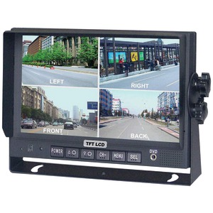 CRIMESTOPPER 7 Inch. Color LCD Monitor with Built-in Quad View SV-8900.QM.II