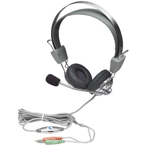MANHATTAN Stereo Headset with In-Line Volume Control 175517