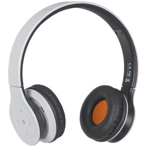Fusion Bluetooth(R) Headphones with Microphone (White)