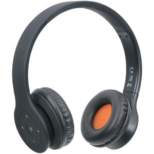 Fusion Bluetooth(R) Headphones with Microphone (Black)