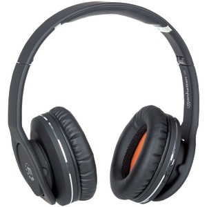 Fathom Bluetooth(R) Headphones with Microphone (Black)