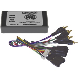 PAC Radio Replacement Interface (29-Bit Interface for 2007 GM(R) vehicles with No OnStar(R) System) C2R-GM29