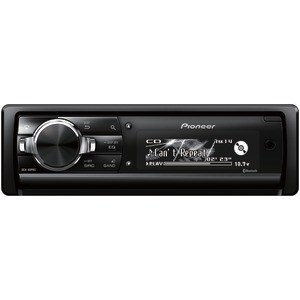 PIONEER Single-DIN In-Dash CD Receiver with Bluetooth(R) DEH-80PRS