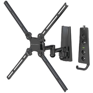 10 Inch. - 47 Inch. Dual-Arm Full-Motion Flat Panel Mount