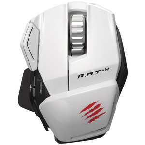 R.A.T.(TM) M Wireless Mobile Gaming Mouse (White)