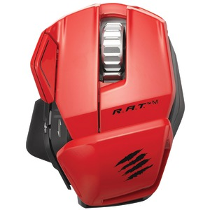 R.A.T.(TM) M Wireless Mobile Gaming Mouse (Red)