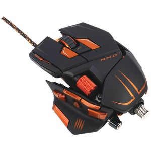 M.M.O.(TM) 7 Gaming Mouse for PC (Black)