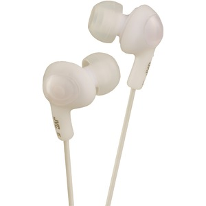 Gumy(R) Plus In-Ear Earbuds with Remote & Microphone (White)