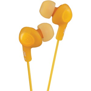 JVC Gumy(R) Plus Inner-Ear Earbuds (Orange) HAFX5D