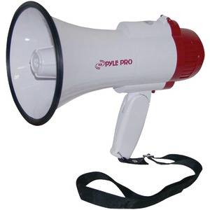 PYLE PRO Professional Megaphone-Bullhorn with Siren & Voice Recorder PMP35R