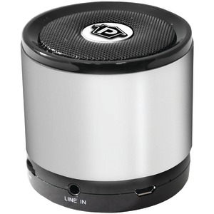 Bluetooth(R) Mini Speaker (Silver)