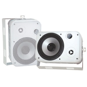 6.5 Inch. Indoor-Outdoor Waterproof Speakers (White)
