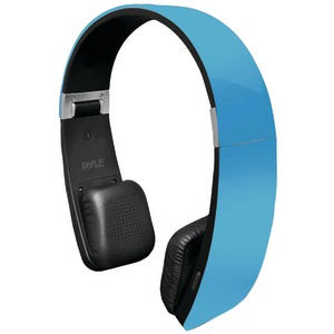 Sound 6 Bluetooth(R) 2-in-1 Stereo Headphones with Microphone (Blue)