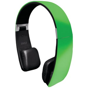 Sound 6 Bluetooth(R) 2-in-1 Stereo Headphones with Microphone (Green)